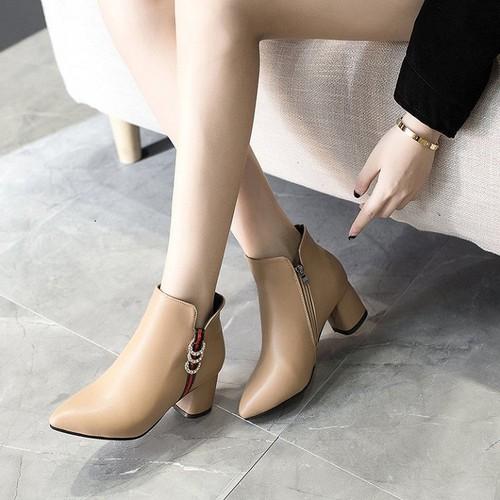 Giày bốt nữ cao cấp - Giày boot nữ đẹp nhất