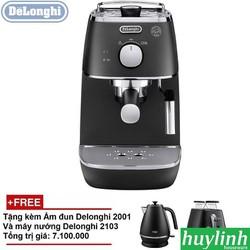Máy pha cà phê Delonghi ECI341.BK Tặng Ấm Đun và Máy Nướng Bánh Mì