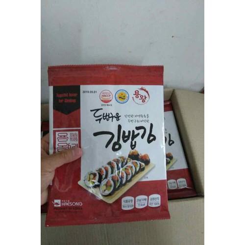 Rong biển cuộn cơm kimbap Hàn Quốc - 6463318 , 13094604 , 15_13094604 , 30000 , Rong-bien-cuon-com-kimbap-Han-Quoc-15_13094604 , sendo.vn , Rong biển cuộn cơm kimbap Hàn Quốc
