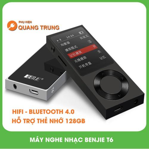 Máy nghe nhạc mp3,lossless chất lượng cao Benjie T6,có bluetooth - 6475415 , 13109840 , 15_13109840 , 1350000 , May-nghe-nhac-mp3lossless-chat-luong-cao-Benjie-T6co-bluetooth-15_13109840 , sendo.vn , Máy nghe nhạc mp3,lossless chất lượng cao Benjie T6,có bluetooth