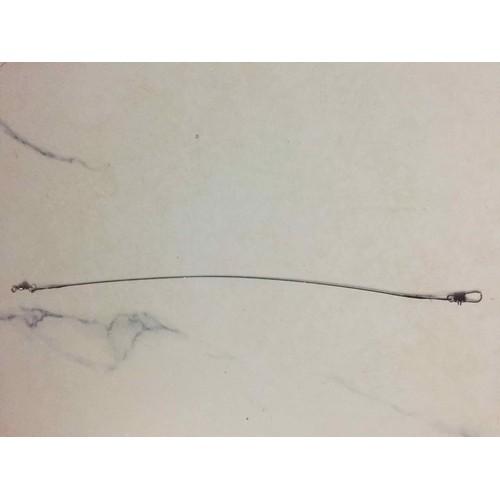 Dây thép câu cá chim 4 sợi-chì 50g 2 cục