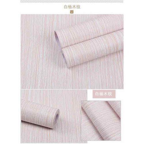 10m giấy dán tường giả gỗ như hình có sẵn keo