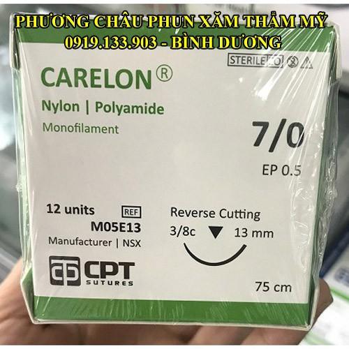 1 tép Chỉ phẫu thuật CPT carelon số 7