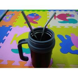 Ống hút trà sữa bằng inox an toàn cho sức khỏe, thân thiện với môi trường