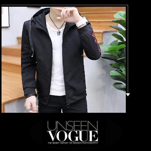 Áo khoác dù nam thời trang đơn giản