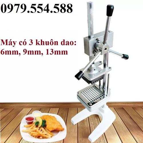 Máy cắt khoai tây chiên dụng cụ cắt khoai tây sợi công nghiệp