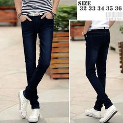 quần jean nam cao cấp ống suông co dãn có big size 33, 34, 35, 36 hàng bao đẹp nhé