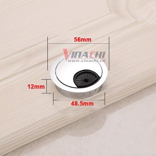 Nắp luồn dây điện tròn inox-50mm - 6472219 , 13106262 , 15_13106262 , 27000 , Nap-luon-day-dien-tron-inox-50mm-15_13106262 , sendo.vn , Nắp luồn dây điện tròn inox-50mm