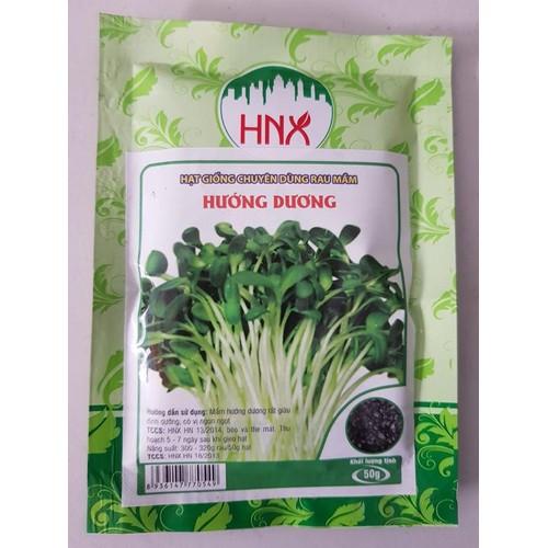 hạt giống rau mầm hướng dương gói 50g - 6477456 , 13112377 , 15_13112377 , 15000 , hat-giong-rau-mam-huong-duong-goi-50g-15_13112377 , sendo.vn , hạt giống rau mầm hướng dương gói 50g