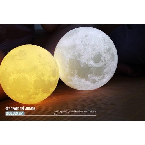 Đèn mặt trăng Luna - Đèn mặt trăng cảm biến - Size 20cm