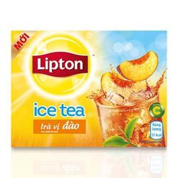 Trà Ice Tea vị đào Lipton hộp 224g
