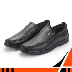 Giày lười nam Tronshop TS315 giày lười nam vải shop giày lười nam