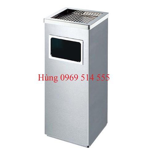 Thùng rác inox gạt tàn A34-B - 6467534 , 13100703 , 15_13100703 , 800000 , Thung-rac-inox-gat-tan-A34-B-15_13100703 , sendo.vn , Thùng rác inox gạt tàn A34-B