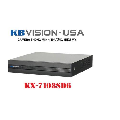 Đầu ghi hình 8 kênh 5 in 1 KBVISION KX-7108SD6 - 6473777 , 13108009 , 15_13108009 , 1149000 , Dau-ghi-hinh-8-kenh-5-in-1-KBVISION-KX-7108SD6-15_13108009 , sendo.vn , Đầu ghi hình 8 kênh 5 in 1 KBVISION KX-7108SD6