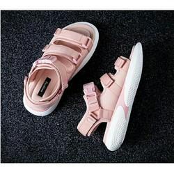 sandal nữ 3 quai phong cách hàn quốc