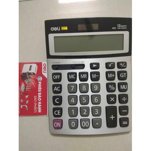 Máy tính cầm tay deli 1616-Chính hãng - BH 2 năm - 6480985 , 13117895 , 15_13117895 , 210000 , May-tinh-cam-tay-deli-1616-Chinh-hang-BH-2-nam-15_13117895 , sendo.vn , Máy tính cầm tay deli 1616-Chính hãng - BH 2 năm