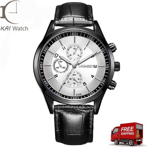 Đồng hồ nam LAGMEEY - L28 dây da cao cấp - Kai Watch
