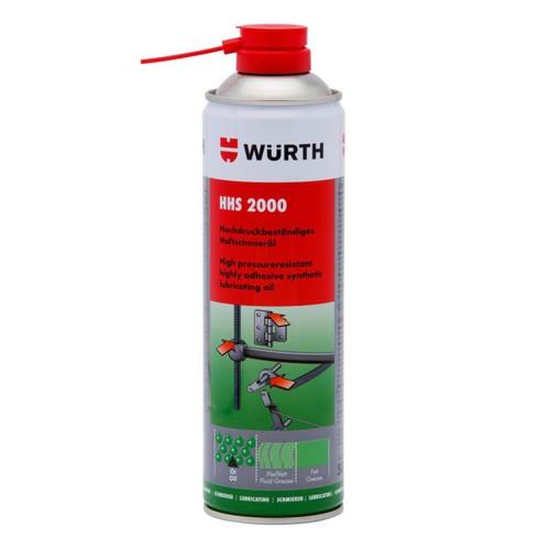 Mỡ bò nước dạng xịt bôi trơn chịu nhiệt Wurth HHS 2000 500ml - 6494859 , 13136252 , 15_13136252 , 170000 , Mo-bo-nuoc-dang-xit-boi-tron-chiu-nhiet-Wurth-HHS-2000-500ml-15_13136252 , sendo.vn , Mỡ bò nước dạng xịt bôi trơn chịu nhiệt Wurth HHS 2000 500ml