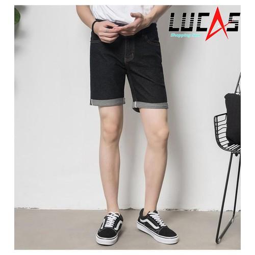 Quần Shorts Jeans Nam Phong Cách MEN SHORTS 034V1 B