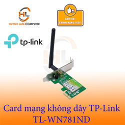 Card mạng WiFi TPLink TL-WN 781ND chính hãng - FPT phân phối