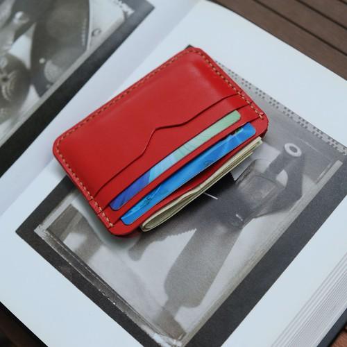 Ví da đựng thẻ mini - Đồ da Handmade - Mino Crafts VI533