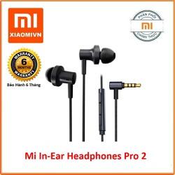 Tai nghe Xiaomi Mi In-Ear Headphones Pro 2 - Hãng phân phối - ZBW4423TY-đen