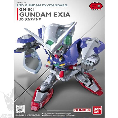 Đồ chơi mô hình lắp ráp SD Gundam EX 003 Exia