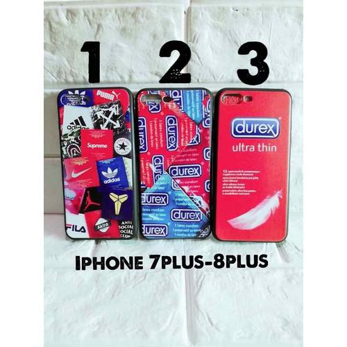 Ốp lưng iPhone 7 plus-8 plus full dẻo