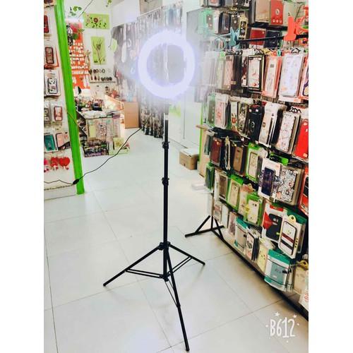 giá hỗ trợ livetream kèm đèn LED