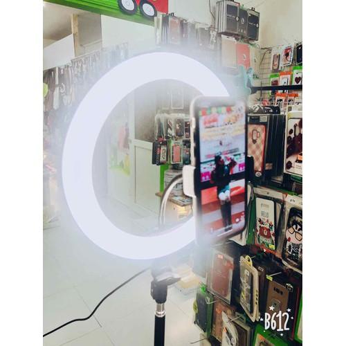 giá livestream kèm đèn LED