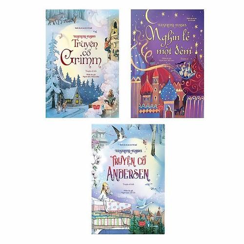 Sách: Combo Illustrated Classics: Nghìn Lẻ Một Đêm - Truyện Cổ Andersen - Truyện Cổ Grimm 3 Tập - 6492892 , 13133373 , 15_13133373 , 504000 , Sach-Combo-Illustrated-Classics-Nghin-Le-Mot-Dem-Truyen-Co-Andersen-Truyen-Co-Grimm-3-Tap-15_13133373 , sendo.vn , Sách: Combo Illustrated Classics: Nghìn Lẻ Một Đêm - Truyện Cổ Andersen - Truyện Cổ Grimm 3