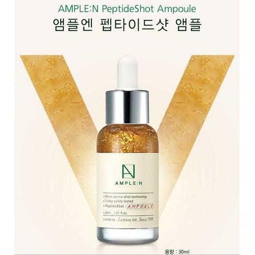 Tinh Chất Dưỡng da Coreana AMPLE:N Peptide Shot Ampoule
