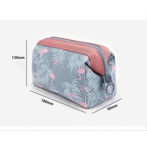 Túi đựng mỹ phẩm hoa văn Brahma Flamingo - 6484970 , 13122934 , 15_13122934 , 55000 , Tui-dung-my-pham-hoa-van-Brahma-Flamingo-15_13122934 , sendo.vn , Túi đựng mỹ phẩm hoa văn Brahma Flamingo