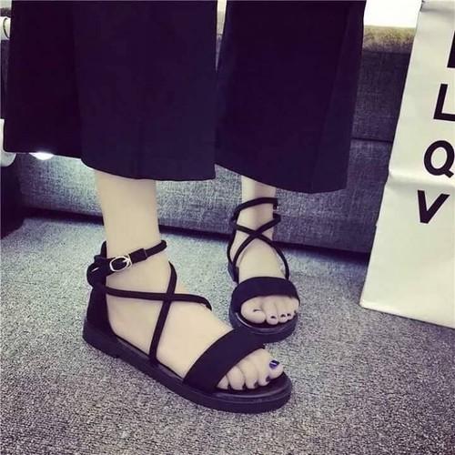 giày sandan chéo X