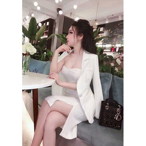 Đầm body kèm áo vest sang trọng - 6494818 , 13136137 , 15_13136137 , 115000 , Dam-body-kem-ao-vest-sang-trong-15_13136137 , sendo.vn , Đầm body kèm áo vest sang trọng