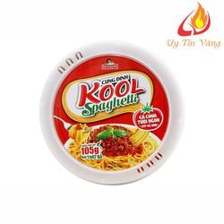Thùng 12 Tô Mì Khoai Tây Cung Đình Kool Sốt Spaghetti Hương Vị Thịt Bò Bằm Và Cà Chua [ĐƯỢC KIỂM HÀNG] 13124429