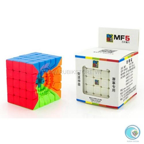 Đồ chơi Rubik 5x5 cao cấp Moyu MoFangJiaoShi 5x5 MF5s  Stickerless
