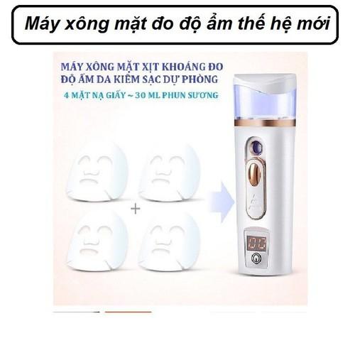 Máy xịt khoáng nano mini đo độ ẩm da mặt | Máy xông mặt cầm tay - máy xông mặt mini - 6484851 , 13122696 , 15_13122696 , 199000 , May-xit-khoang-nano-mini-do-do-am-da-mat-May-xong-mat-cam-tay-may-xong-mat-mini-15_13122696 , sendo.vn , Máy xịt khoáng nano mini đo độ ẩm da mặt | Máy xông mặt cầm tay - máy xông mặt mini
