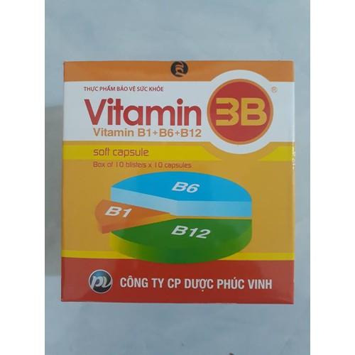 Vitamin 3B - Phúc Vinh - Hộp 100 viên