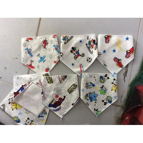 combo 50 khăn tam giác