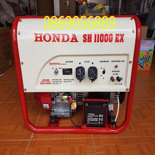 Máy phát điện 10KW chạy xăng SH 11000, Le gió tự động, AVR - 6490885 , 13130563 , 15_13130563 , 29990000 , May-phat-dien-10KW-chay-xang-SH-11000-Le-gio-tu-dong-AVR-15_13130563 , sendo.vn , Máy phát điện 10KW chạy xăng SH 11000, Le gió tự động, AVR