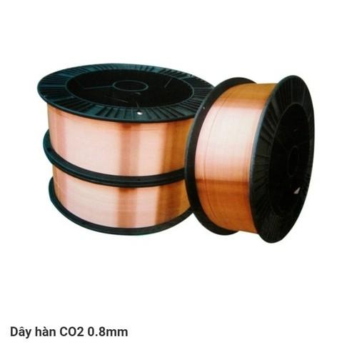 Dây hàn mig CO2   5kg  bộ 3 CUỘN dùng khí