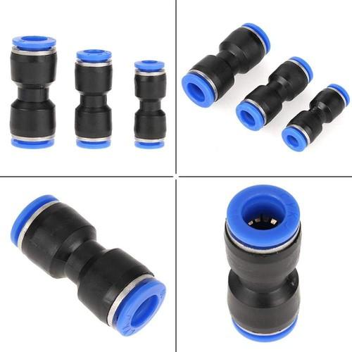 Đầu nối nhanh ống nhựa thẳng đường kính PU6