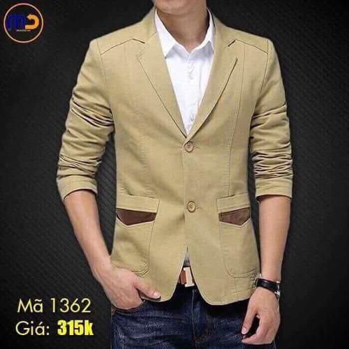 áo vest kaki nam