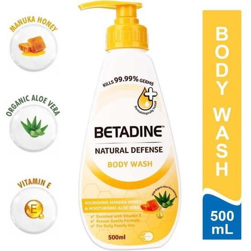 Sữa tắm Betadine 500ml