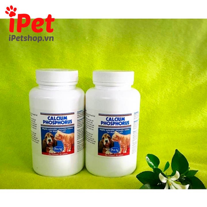 Viên Bổ Sung Canxi Calcium Phosphorus Cho Thú Cưng Chó Mèo 1