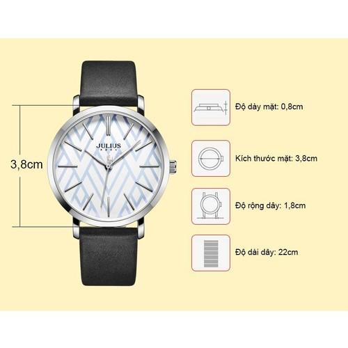 Đồng hồ nữ Đồng hồ thời trang JA-1114A JULIUS HÀN QUỐC DÂY DA ĐEN - 6502376 , 13146051 , 15_13146051 , 711000 , Dong-ho-nu-Dong-ho-thoi-trang-JA-1114A-JULIUS-HAN-QUOC-DAY-DA-DEN-15_13146051 , sendo.vn , Đồng hồ nữ Đồng hồ thời trang JA-1114A JULIUS HÀN QUỐC DÂY DA ĐEN