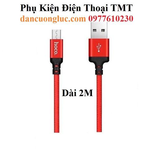 Cáp sạc Micro USB Hoco X14 2M