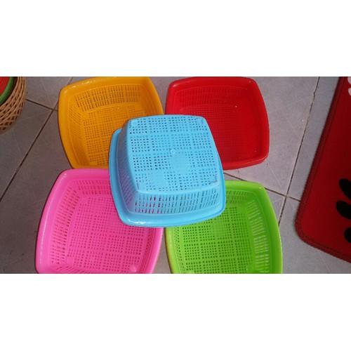 Rỗ nhựa vuông set 20c 5-15cm - 6503131 , 13146985 , 15_13146985 , 140000 , Ro-nhua-vuong-set-20c-5-15cm-15_13146985 , sendo.vn , Rỗ nhựa vuông set 20c 5-15cm