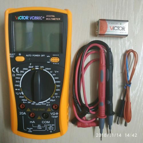 Đồng hồ vạn năng VICTOR  VC-890C